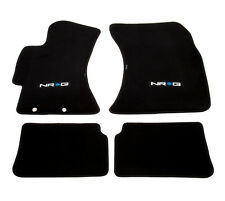 NRG Floor Mats with NRG Logo for Subaru Impreza WRX STI (2009+) - Part # FMR-410