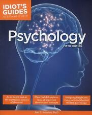 Idiot's Guides: Psychology, 5th Edition, Johnston Psy.D., Joni E., Good Book