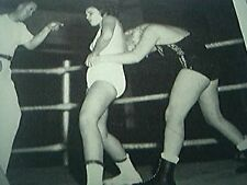 magazine picture wrestling 1961 - kathy cathy branch ethel brown texas wrestlers