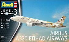 """AIRBUS A320 """"ETIHAD AIRWAYS"""" REVELL 1/144 PLASTIC KIT"""