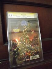 AGE OF ULTRON 1 J SCOTT CAMPBELL VARIANT SIGNED BY STAN LEE CGC SS 9.8 MIDTOWN