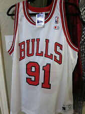 Champion Chicago Bulls Dennis Rodman size 44 authentic pro cut