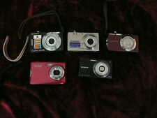 Lot of 5 digital cameras