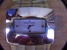 anne klein 10/6505 stainless steel case Quartz analog wrist watch women's