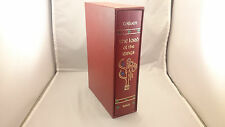 Lord of The Rings Tolkien Collectors HMCO Edition Red Hardcover with map