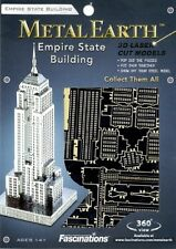 Empire State Building New York Metal Earth 3D Model Kit FASCINATIONS