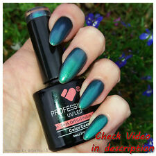 *1617* VB™ Line Green Chameleon Metallic Colour UV/LED Soak Off Nail Gel Polish