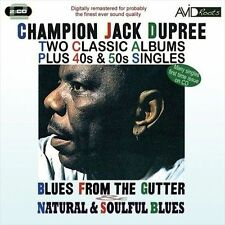 NEW Blues From The Gutter/natural And Soulful Blues by Champion Jack... CD (CD)