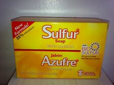 GRISI SULPHUR SULFUR BAR SOAP 4.4 OZ ( AZUFRE ) W/ LANOLIN FOR ACNE TREATMENT