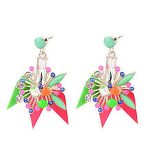 MARNI H&M Multi-color Flower Earrings