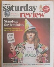 Bridget Christie – Times Saturday Review – 26 July 2014