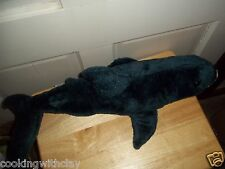 RARE REALISTIC LIFELIKE GREAT WHITE MAKO SHARK PLUSH OCEANIC AQUATIC FIESTA TOY