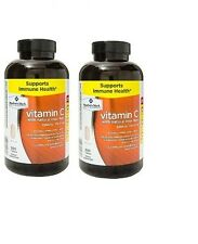 2pk Member's Mark 1000mg Vitamin C with Rose Hips 500 Tablets Each