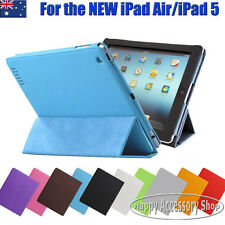 Premium Leather Case Folder Cover for Apple the New iPad Air,iPad 5