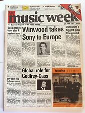 MUSIC WEEK MAGAZINE   27 JULY 1991  THE WALKER BROTHERS      LS