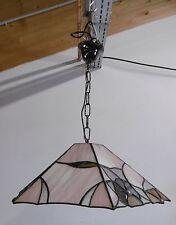 Honsel Hängelampe Tiffany Stil Deckenlampe Hand Made Stained Glas 78461