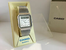 Casio AT-550 Calculator module 320 Janus  Sensor Touch Quartz LCD LED Watch