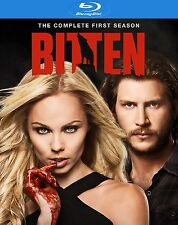 Bitten: Season 1 One [Blu-ray Box Set, Vampire Lust Sex Love Blood Hot] NEW