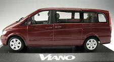 MINICHAMPS - Mercedes-Benz VIANO Bus - velvetrot - 1:43 - Modellauto - B67871300