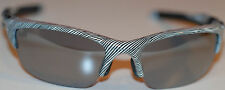 Oakley Half Jacket 2.0 White Fingerprint/Slate Iridium Snglasses, OO9153-22, New