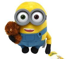 Peluche 30cm BOB MINION con ORSETTO TIM Original Plush MINIONS 2015 Teddy Movie