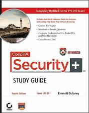 CompTIA Security+Study Guide: Exam SY0-201 Dulaney, Emmett Paperback