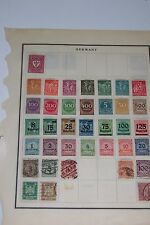 German Stamps Lot of 52 / Deutsches Reich And More