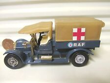 MATCHBOX LESNEY YESTERYEAR Y13 Pale TAN Fr.RF 1918 CROSSLEY RAF TENDER CHR24 MB*