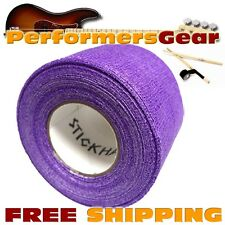 Stick Handler PREM Percussion, Timbales, Cymbal Drumstick Grip Tape Purple NEW