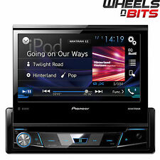 "NEW Pioneer AVH-X7800BT CD/DVD Bluetooth Car Stereo iPod USB 7"" Motorised Screen"