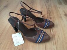New��Rockport�� UK size 6 (US8.5M )Strappy Sandals Shoes brown leather NEW £99