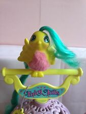 Fairy Tails Fuzzie Tummies Fluffy Tails Bird Figure Hasbro My Little Pony 80's