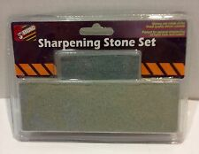 Silicon Carbide Sharpening Stone Set Tactical Machete Axe Knife Sharpener Tool