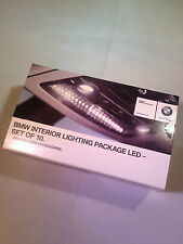BMW LED INTERIOR LIGHT BULB PACKAGE GENUINE SET OF 10