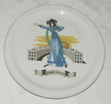 "Sarah Siddons 10"" Restaurant Dinner Plate Cassidys Pump Room Lord Simcoe Toronto"