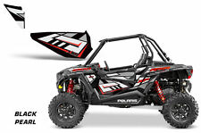 AMR Racing UTV Door Graphics Inserts for Polaris RZR 1000 Dragonfire HiBoy BK P