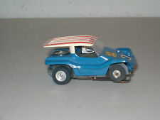 SLOT CAR COLLECTIBLE: TJET *DUNE BUGGY COUPE* BLUE #1399 `69-`72 NICE!!!!