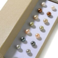 Wholesale 7 pairs 7--7.5mm Freshwater Pearl Stud Earring