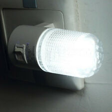 Small Night Light LED Plug in Lamp Energy Saving Bed-Lighting with Switch Socket