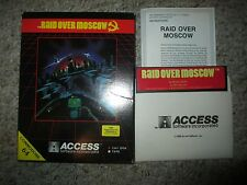 Raid Over Moscow (Commodore 64/128, 1984) Complete in Box c64