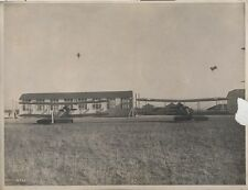 REPRINT OF STUNNING PHOTO OF WWII MILITARY PLANES IN AIR BASE