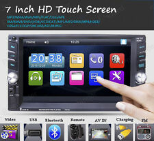 New 2DIN Touch Bluetooth MP5 Player USB/AUX/Remote Head Unit Car radio Stereo