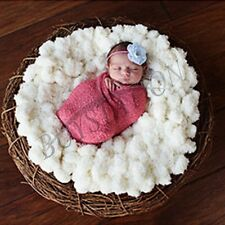 Newborn Infant Baby Photography Photo Props Costume Backdrop Blanket Rug Beanbag