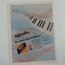 retro magazine advert 1984 D`ADDARIO XL REDS