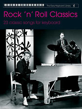 Easy Keyboard Library Rock n Roll Classics Rock n Roll BEGINNER FABER Music BOOK