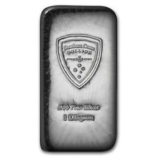 1 kilo Silver Bar - Southern Cross Bullion (Cast) - SKU #95025