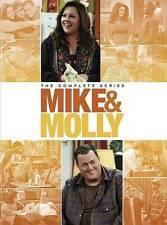 Mike and Molly The Complete Series Seasons 1-6 (DVD, 2016) 1 2 3 4 5 6 & New