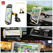 """Excavator Style Mobile Phone Ipad GPS 360° Rotation Mount Holder 4.5-9.7"""" In-Car"""