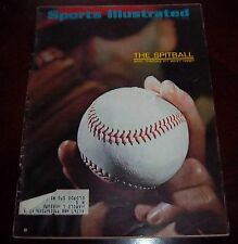 Sports Illustrated  July 31 1967 The Spitball
