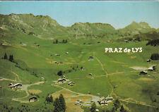 LE PRAZ-DE-LYS vue aérienne timbrée 1985